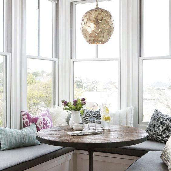 29 breakfast corner nook design ideas digsdigs. Black Bedroom Furniture Sets. Home Design Ideas