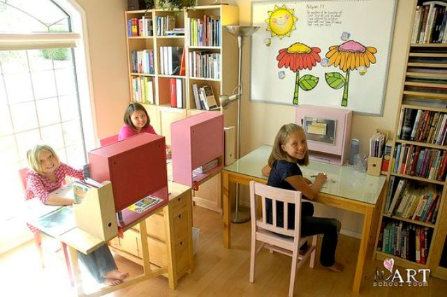 Norden Gateleg tables used for children's room