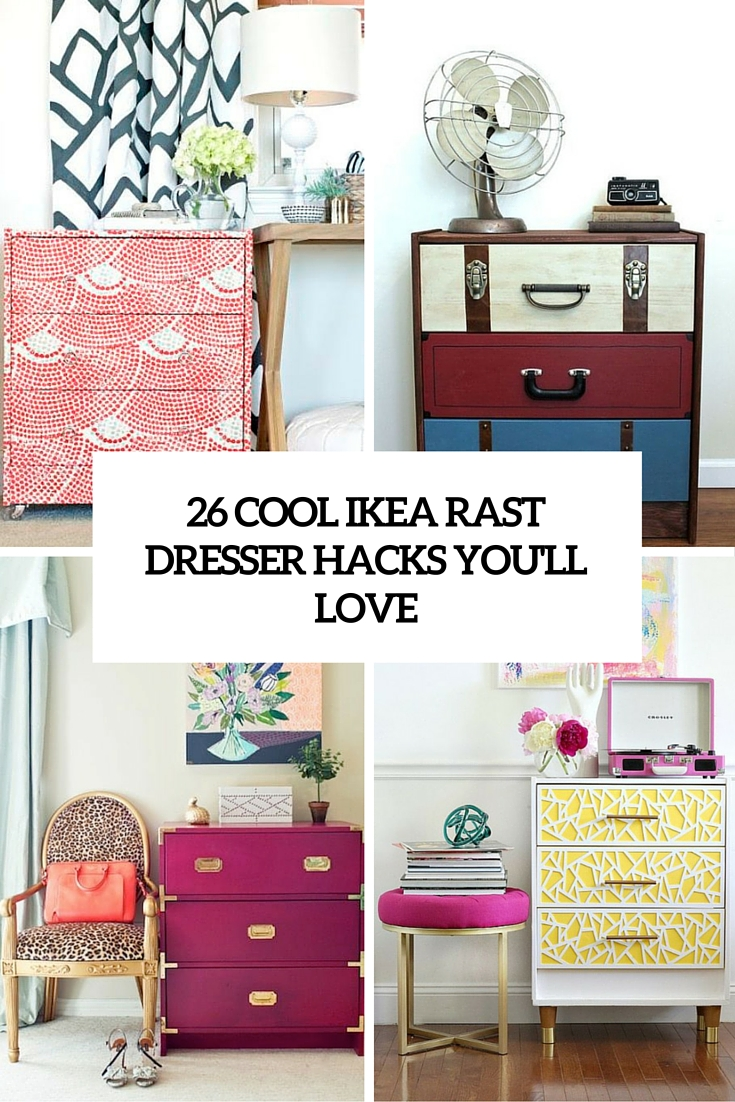 cool ikea rast dresser hacks you'll love cover