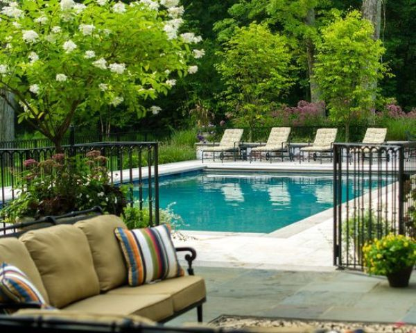 Pool Fence 30 stylish and practical pool fence designs - digsdigs