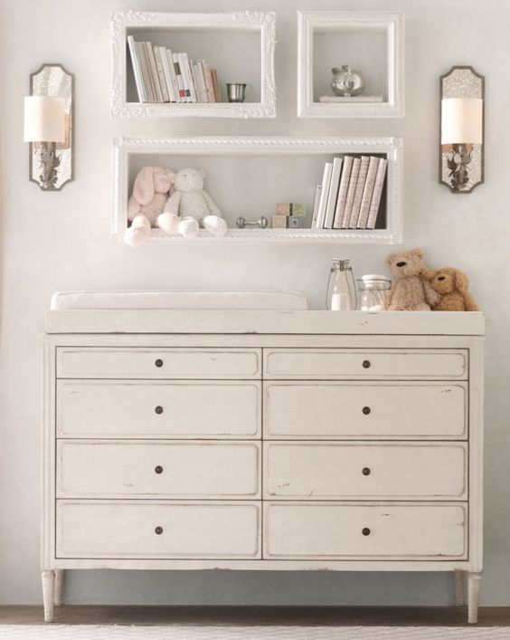 28 changing table and station ideas that are functional and cute rh digsdigs com changing table with drawer changing table with storage baskets