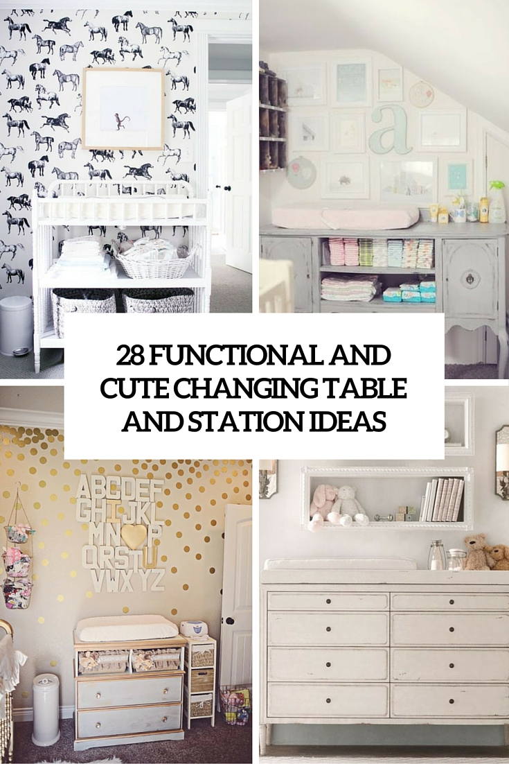 functional and cute changing tables and stations cover