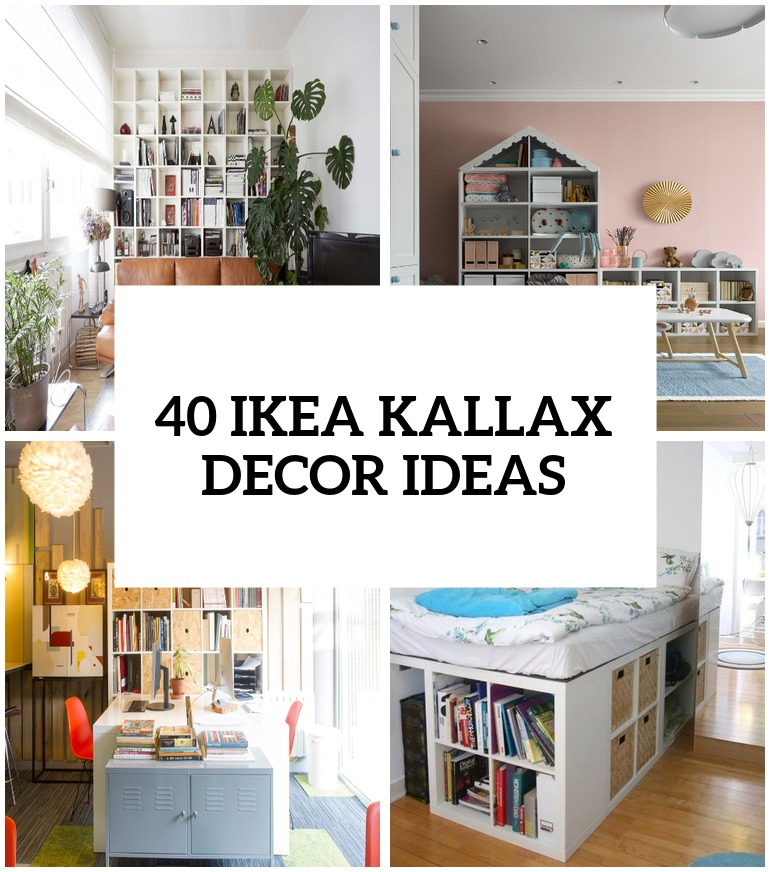40 IKEA Kallax Shelf Décor Ideas And Hacks You'll Like