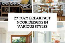 29 cozy breakfast nook designs in various styles cover