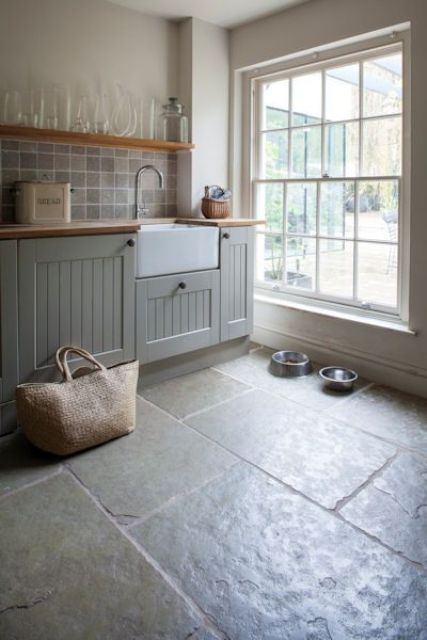 30 grey brushed limestone floors for a natural look