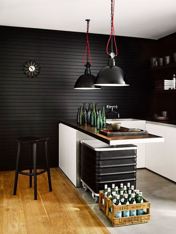 27 Moody Dark Kitchen D 233 Cor Ideas Digsdigs