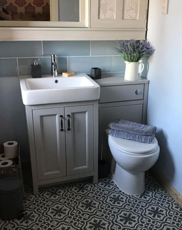 you can built your toilet right into a washbasin unit and that would be a space saving solution too