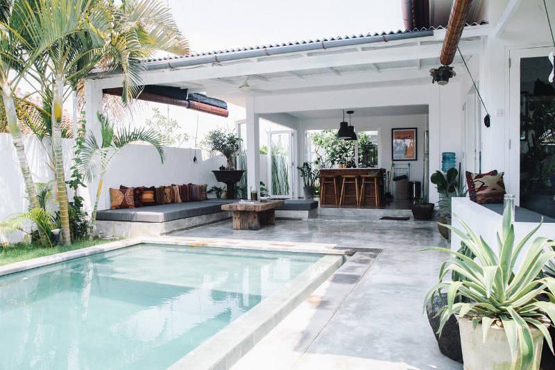 Fella Villas is a modern Bali retreat that reminds a piece of paradise