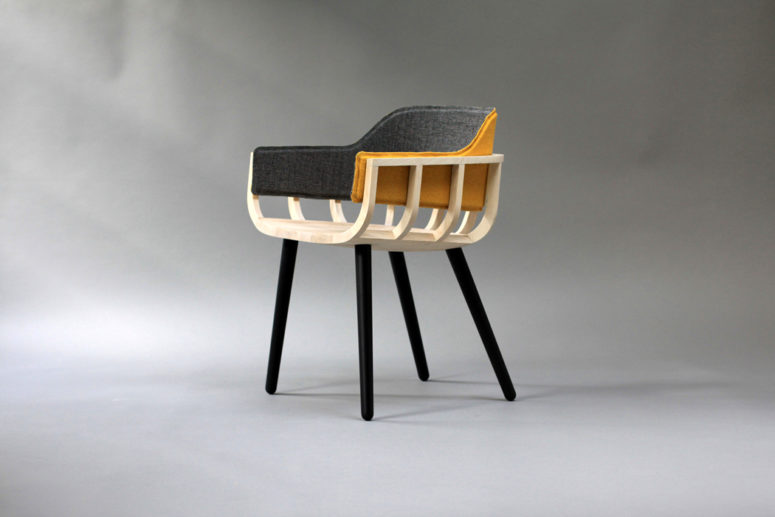 The Frame chair is one of the first furniture pieces that is extremely easy to re upholster