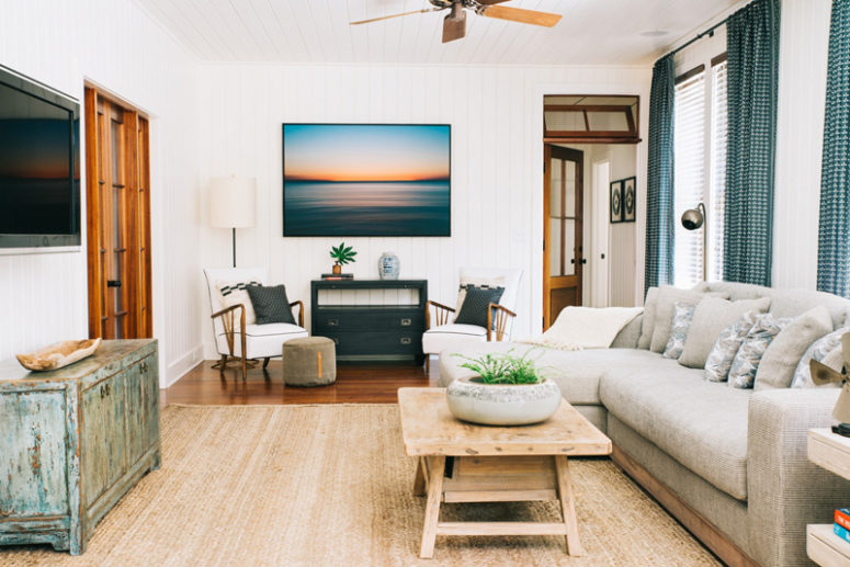 Modern Beach Cottage With A Cozy Feel