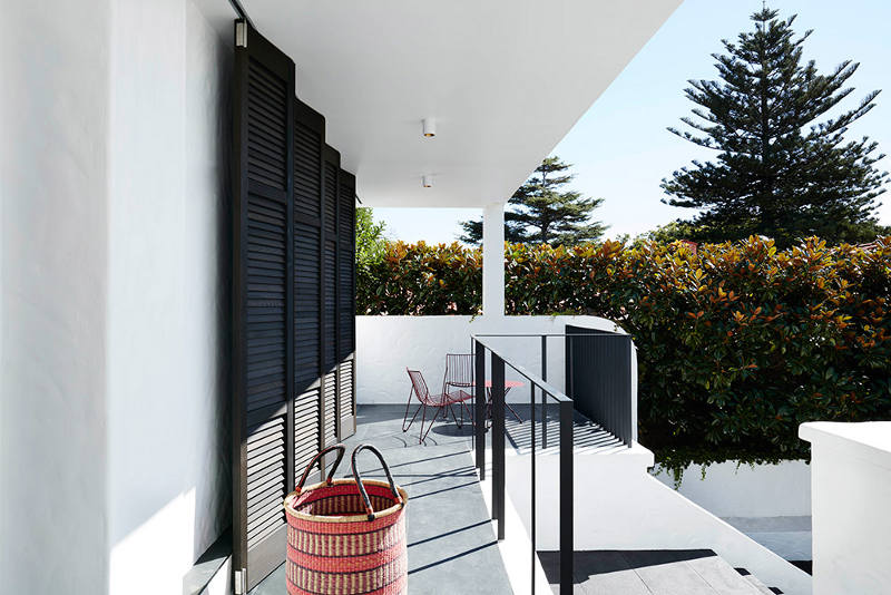 The home is called Inside Out House as it's open to outside