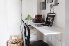 tiny home office design