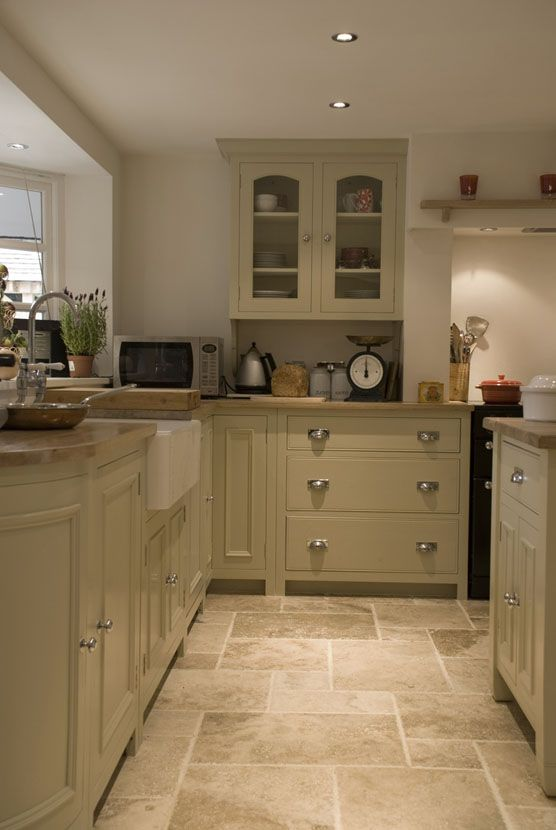 25 stone flooring ideas with pros and cons digsdigs for Top 4 best kitchen flooring options