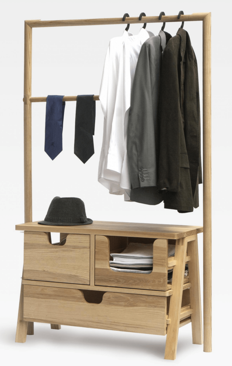 26 Clothes Racks For Homes With No Closet Space - DigsDigs