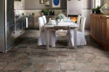 stone kitchen floors
