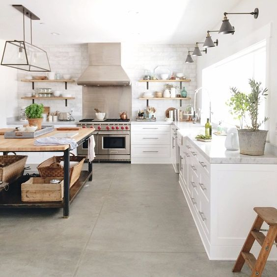 concrete floors are durable, easy to install and budget ffriendly