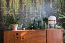 04 forest wall murals help you to merge with nature and relax without leaving home