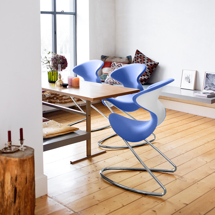 Sculptural and creative oyo chairs for modern spaces for Modern sitting chairs