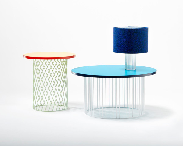 The coffee tables remind of the 20th century and you can choose between two versions