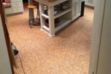 07 cork penny tile for an eye-catchy look