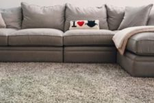 07 fluffy flooring to make your living space warmer