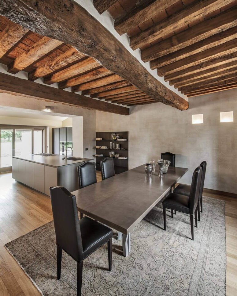 Rustic And Industrial Italian Home With Touches Of Rough