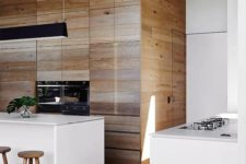 08 almost white concrete continues modern decor theme in this kitchen