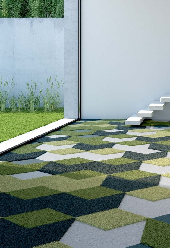 carpet floors are available in lots of colors and textures to match your interiors