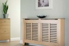 10 modern wood radiator cover that doubles as a shelf