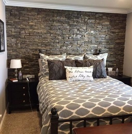 31 Stone Accent Wall Ideas For Various Rooms - DigsDigs