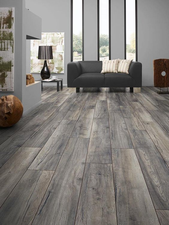 Great Room Flooring Ideas Part - 44: Hardwood Floors Are Very Versatile And Can Match Almost Any Living Room  Decor