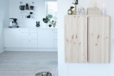16 Ikea Ivar wall-mounted cabinet for a Nordic space