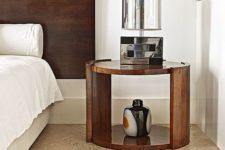 16 textured warm cork floors for a modern bedroom