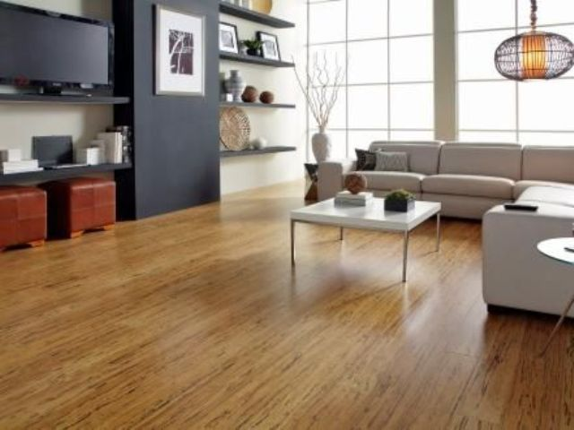 bamboo floors can be easily sanded and refinished getting a new look