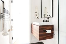 20 wall-mounted bathroom sink vanity