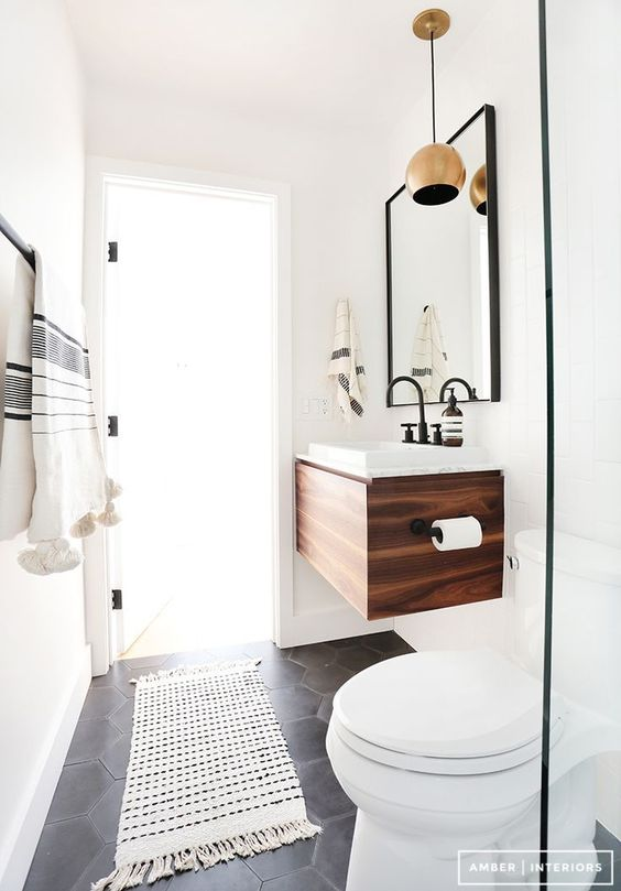 wall-mounted bathroom sink vanity