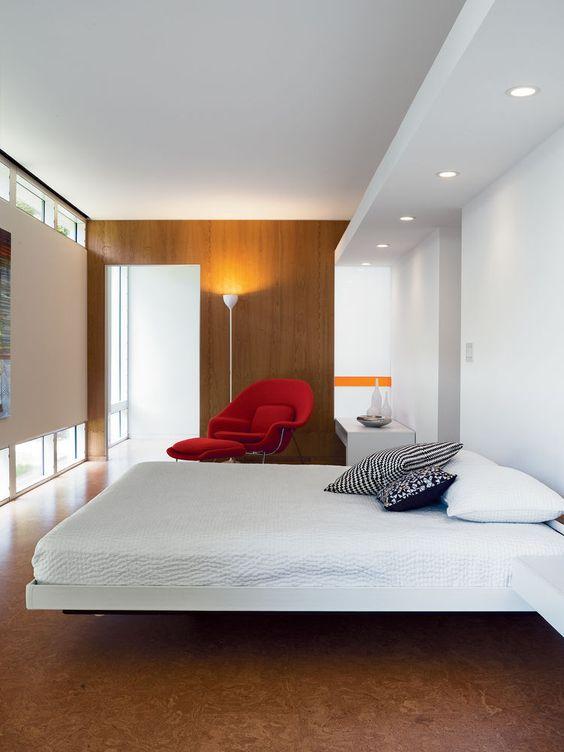 Cool Cork Flooring Ideas For Maximum Comfort DigsDigs - Cork flooring bedroom