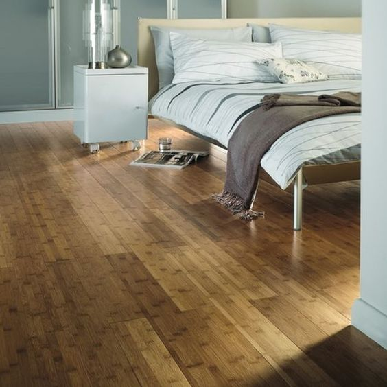 ombre bamboo floors transform the whole room look