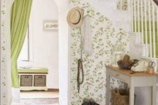 21 rustic worn stone floors for a cottage entryway