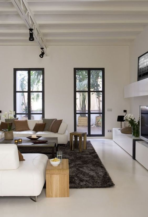 white polished concrete floors are perfect for any space