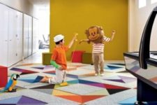 25 colorful carpet floors for a kids' playroom is the best idea
