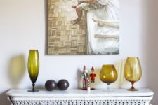 25 decorative patterned radiator screen