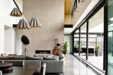 25 polished concrete floors for a large open-plan living space
