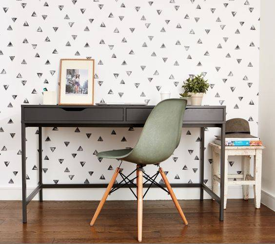 Modren Wallpaper For Office Walls Crowd Decal Wall Mural Design