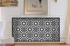 26 Persian-inspired metal radiator screen