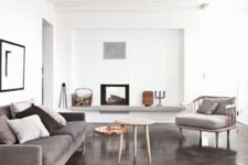 26 muted painted concrete for a calm neutral room