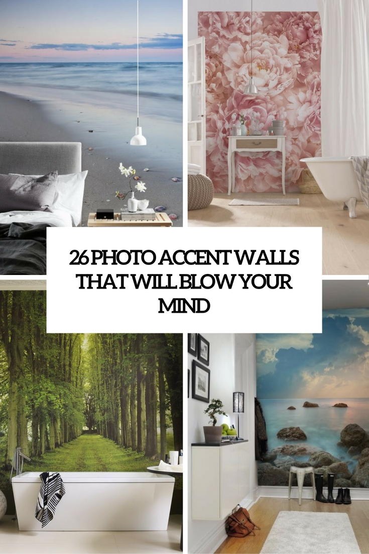 26 Photo Accent Walls That Will Blow Your Mind