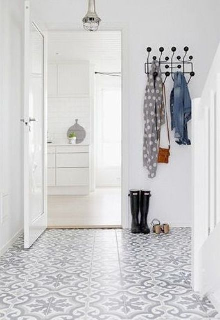 if you live in a humid climate, clad your entry with tiles