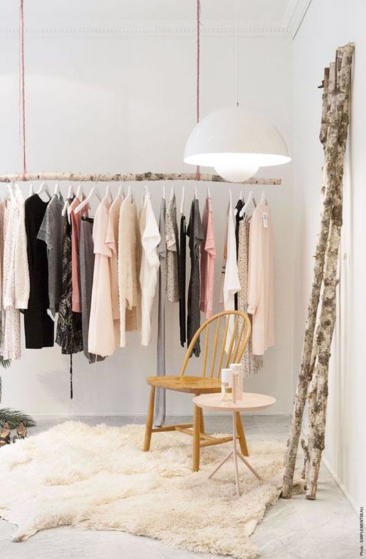 31 Creative Furniture Design Ideas For Small Homes 26 Clothes Racks For Homes With No Closet Space - DigsDigs