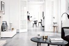 28 dark grey concrete floors with a texture